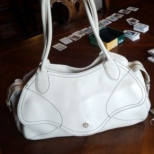 Used  leather Cole Haan Bag